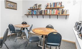 Lending Library-Breakfast Room